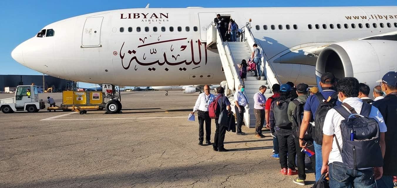 الخطوط الليبية تستأنف الرحلات بين بنغازي وتونس