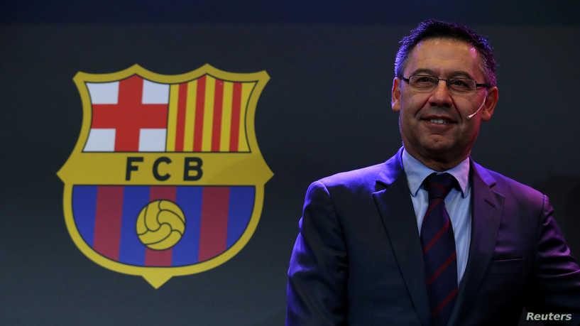«إفراج مشروط» عن رئيس نادي برشلونة السابق ومساعده