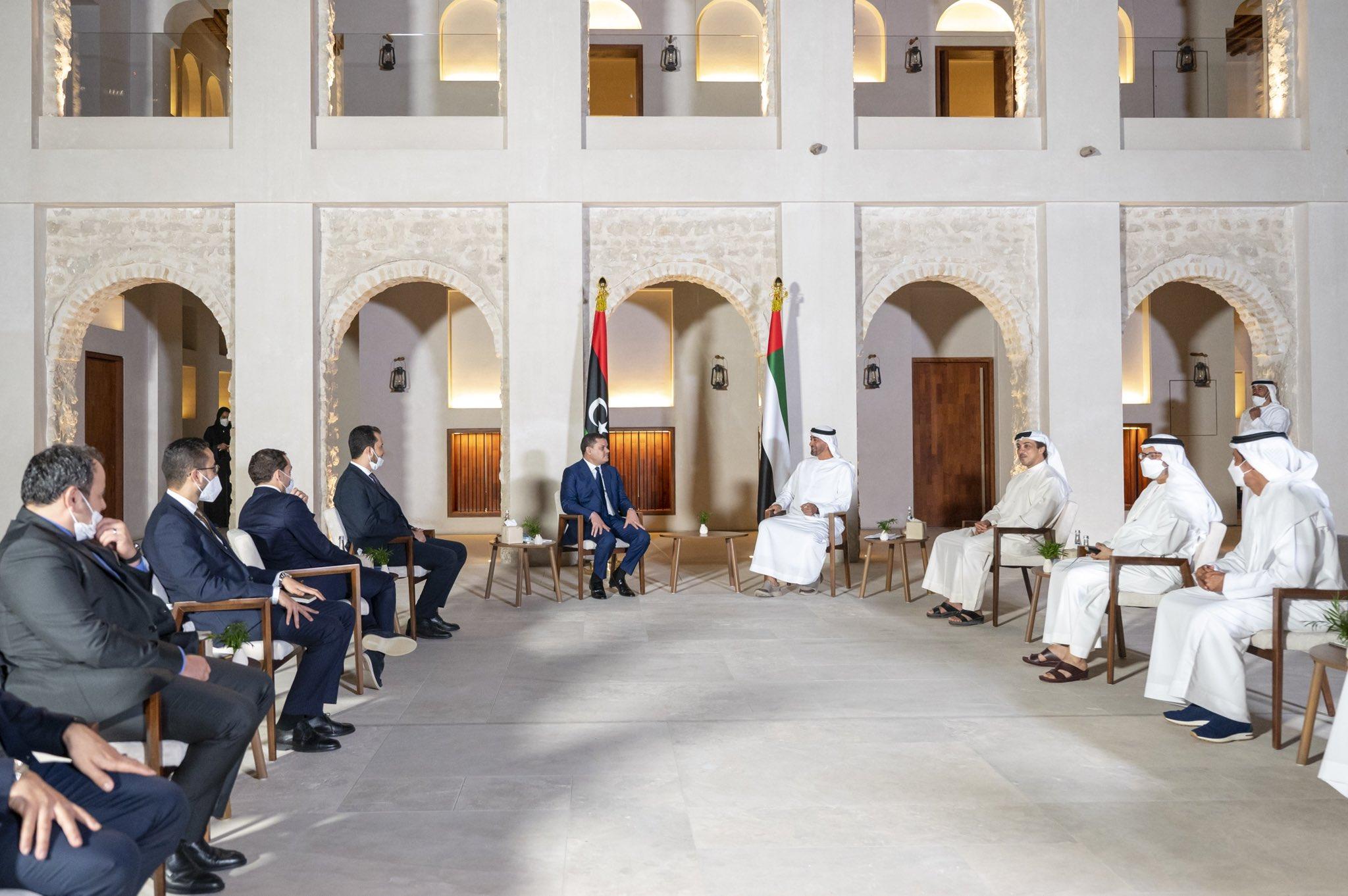 «الدبيبة» يزور الإمارات ضمن جولته الخليجية