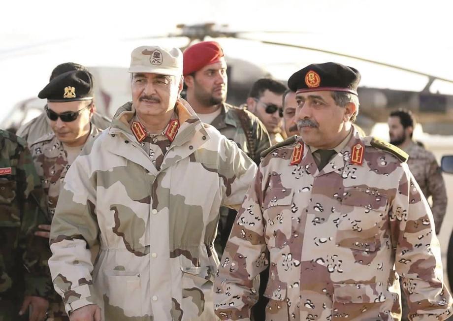 عربي بوست: حفتر رئيساً والناظوري قائداً عاماً
