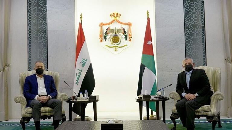 الكاظمي للعاهل الأردني: موقفنا ثابت من أمن واستقرار المملكة
