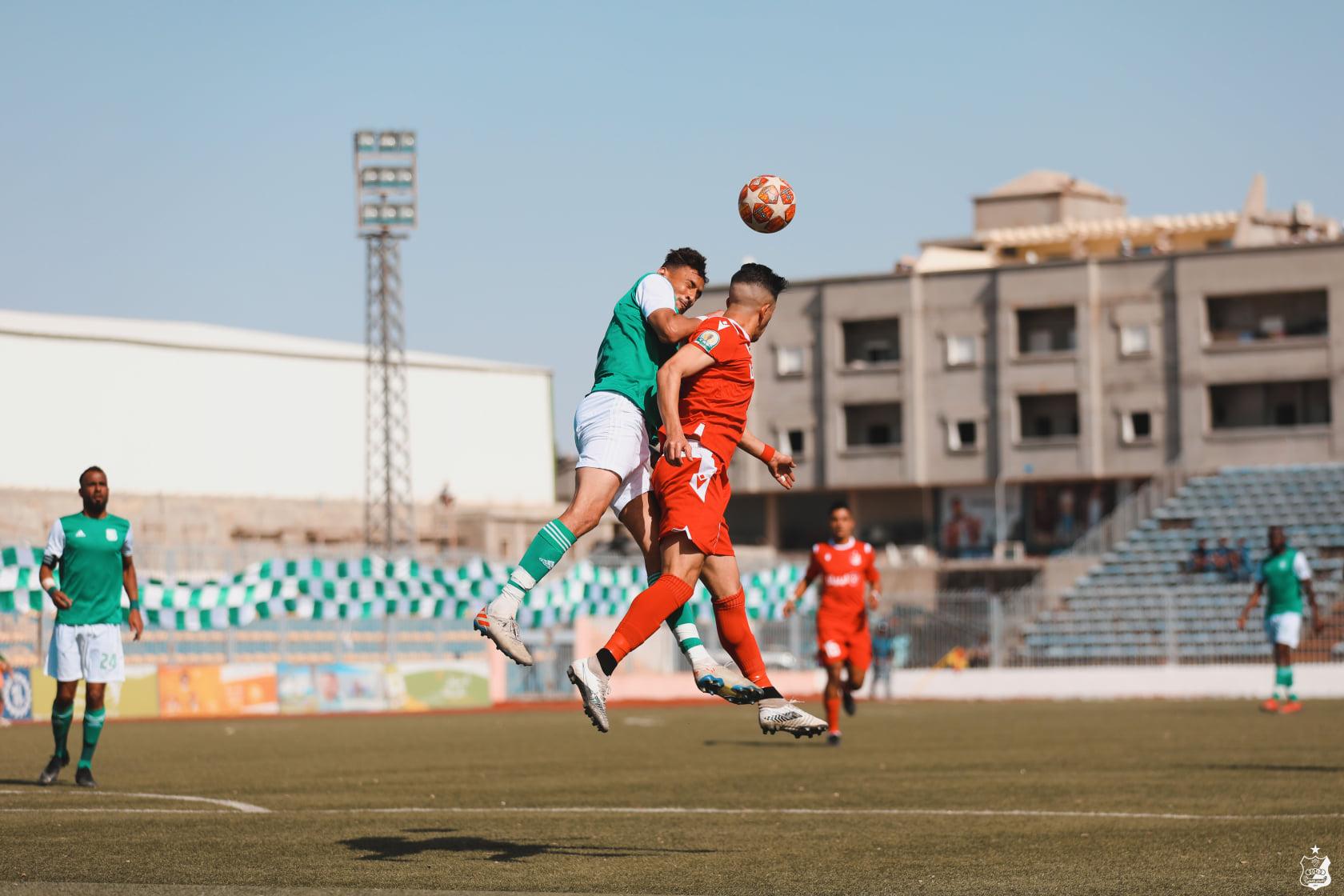 بملعب البيضاء.. الأهلي بنغازي يتجاوز مضيفه الأخضر بهدف يتيم