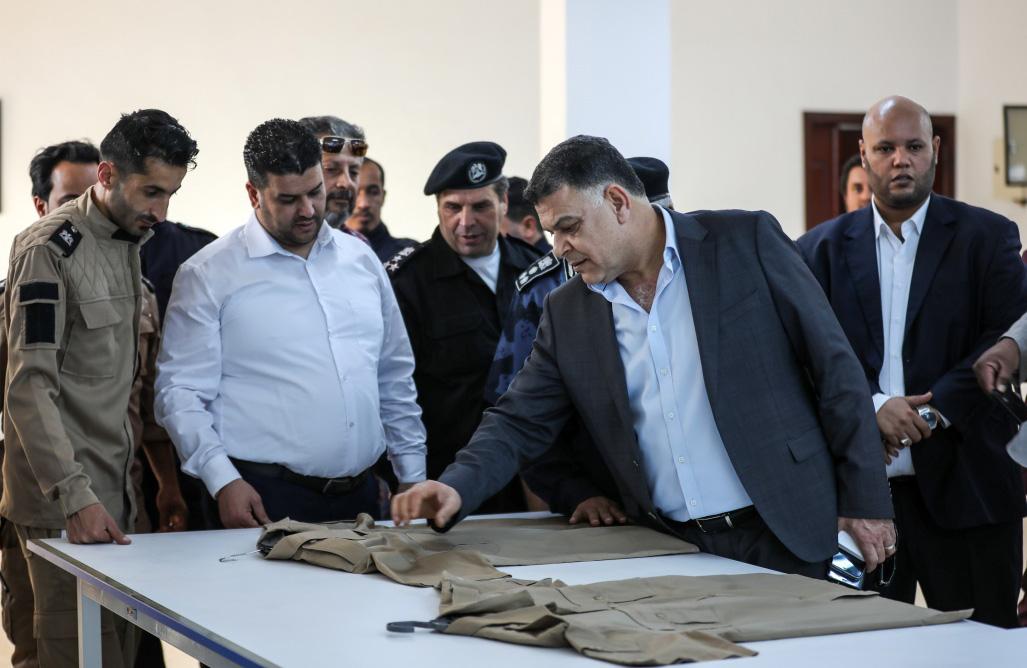 وزير الداخلية يتفقد مديرية أمن بنغازي