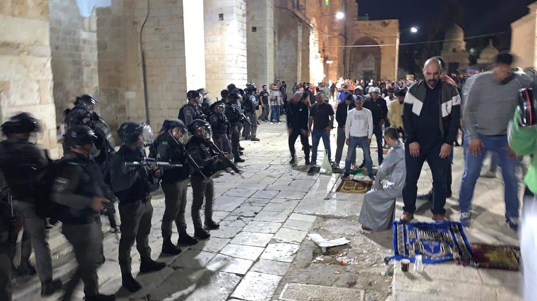 فلسطين تُطالب المجتمع الدولي بتحمل مسؤولية ما يجري في الأقصى المُبارك