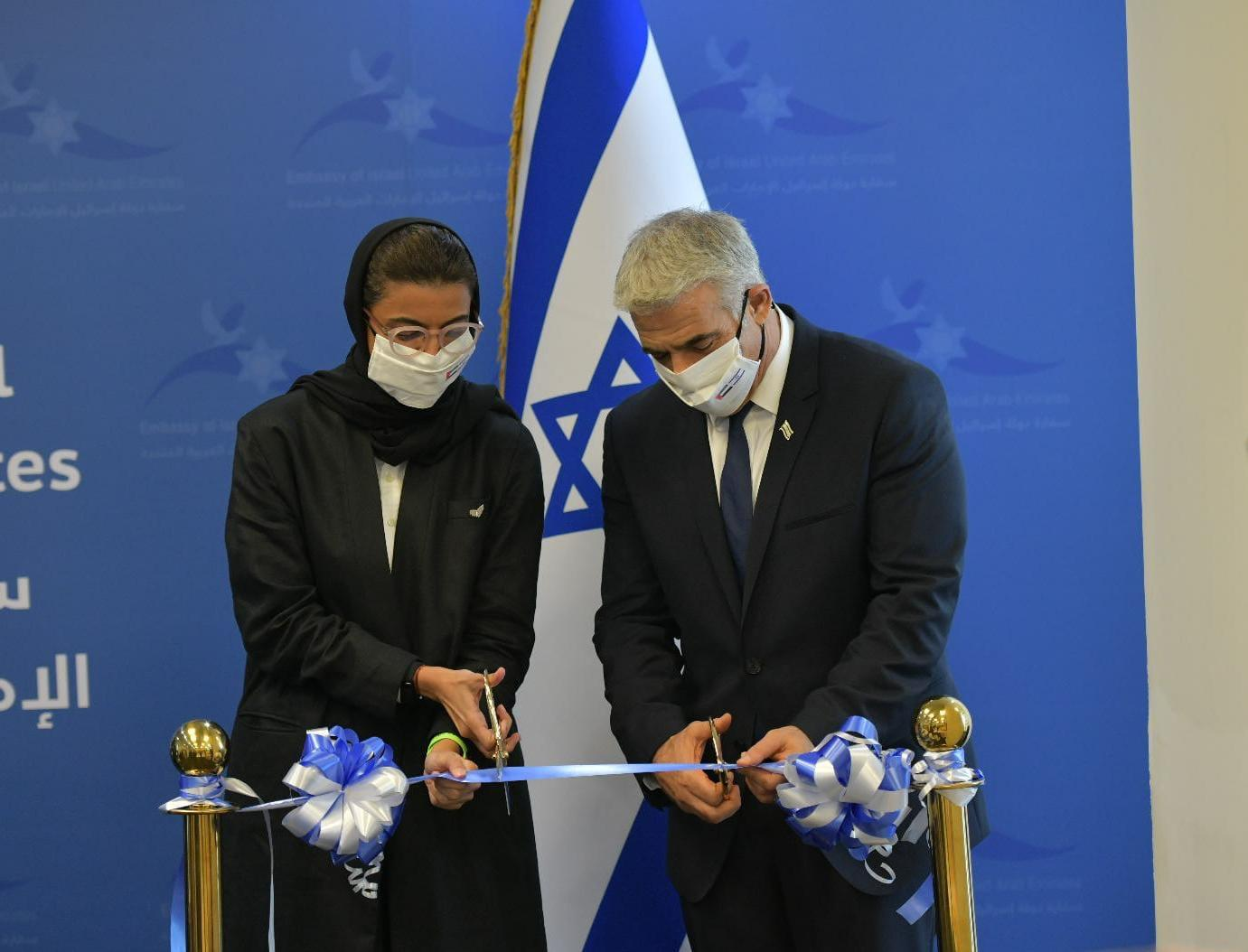افتتاح السفارة الإسرائيلية في أبوظبي