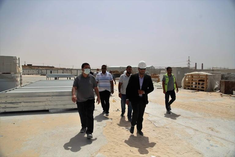 «أنكا» التركية تُباشر أعمال تنفيذ مشروع محطة مصراتة الغازية