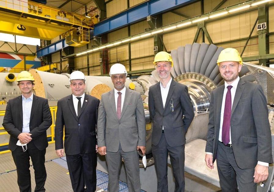 اتفاق مع «سيمنس» الألمانية لنقل وتركيب وحدات توليد كهرباء