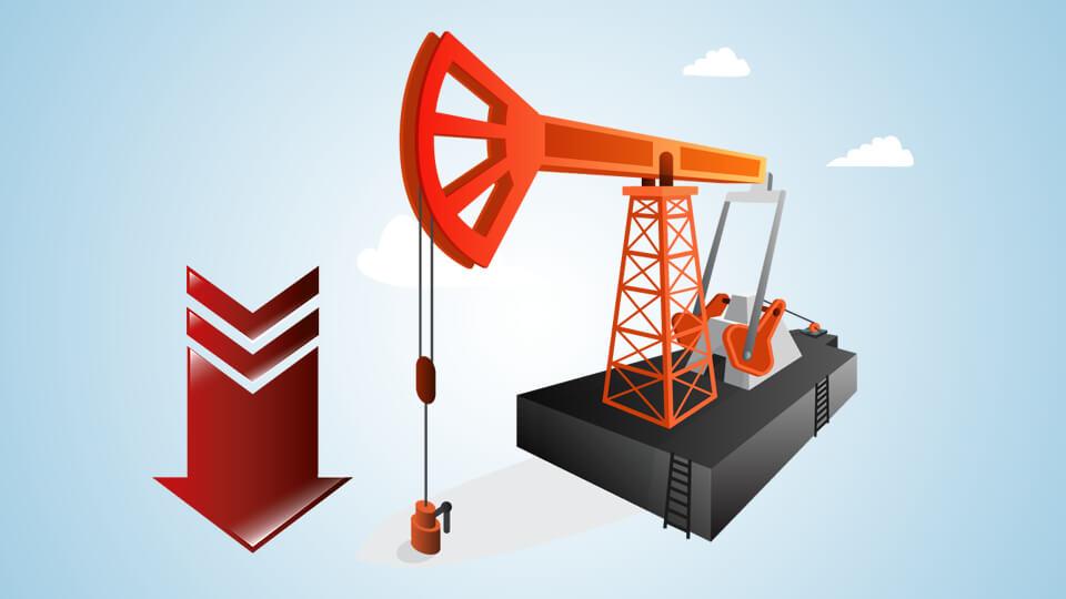 أسعار النفط تنخفض مع صعود الدولار الأمريكي
