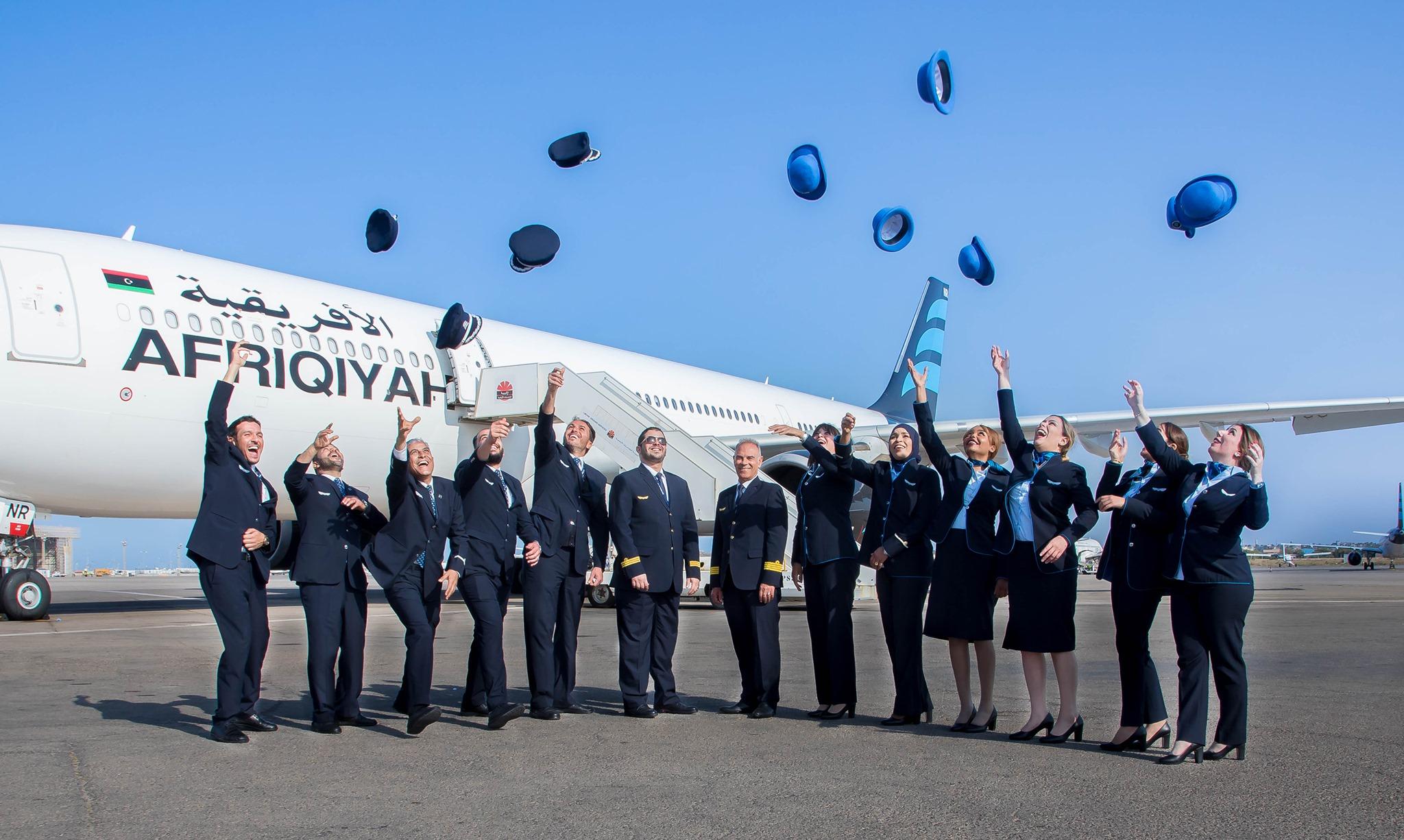 «الأفريقية» تستأنف تسيير رحلاتها إلى عدد من المدن داخل وخارج ليبيا