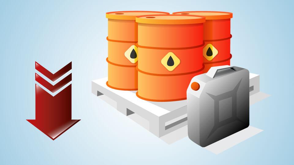 تراجع أسعار النفط بفعل انتشار كورونا والفيضانات