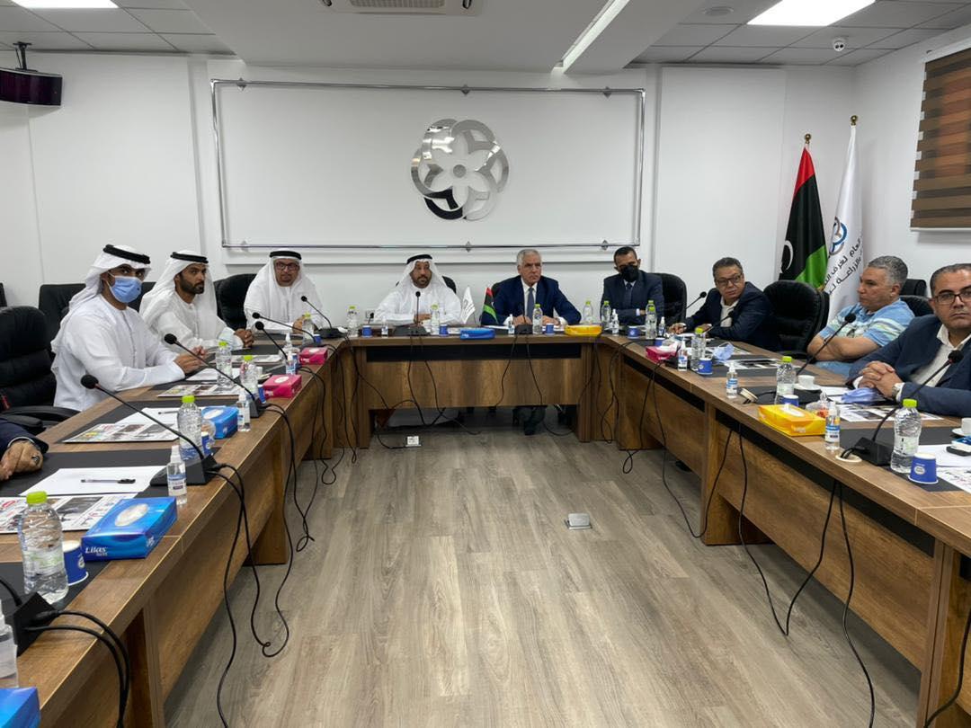 وفد اقتصادي من دولة الإمارات يزور ليبيا
