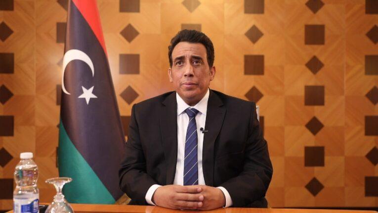 «المنفي» يصل الجزائر في زيارة رسمية