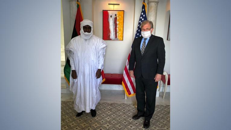 السفارة الأمريكية تُناقش مع الكونغرس التباوي الأوضاع في الجنوب