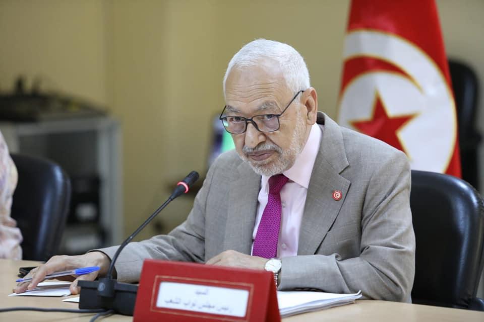 «الغنوشي» يتهم الإمارات بالوقوف وراء ما حصل في تونس