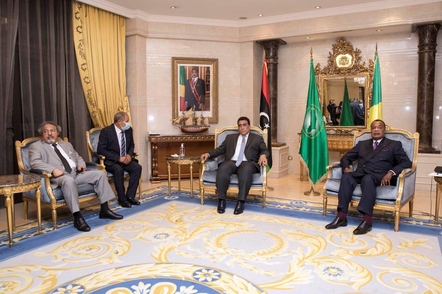 «المنفي» يُطالب الاتحاد الأفريقي بدعم جهود السلم والمصالحة في ليبيا