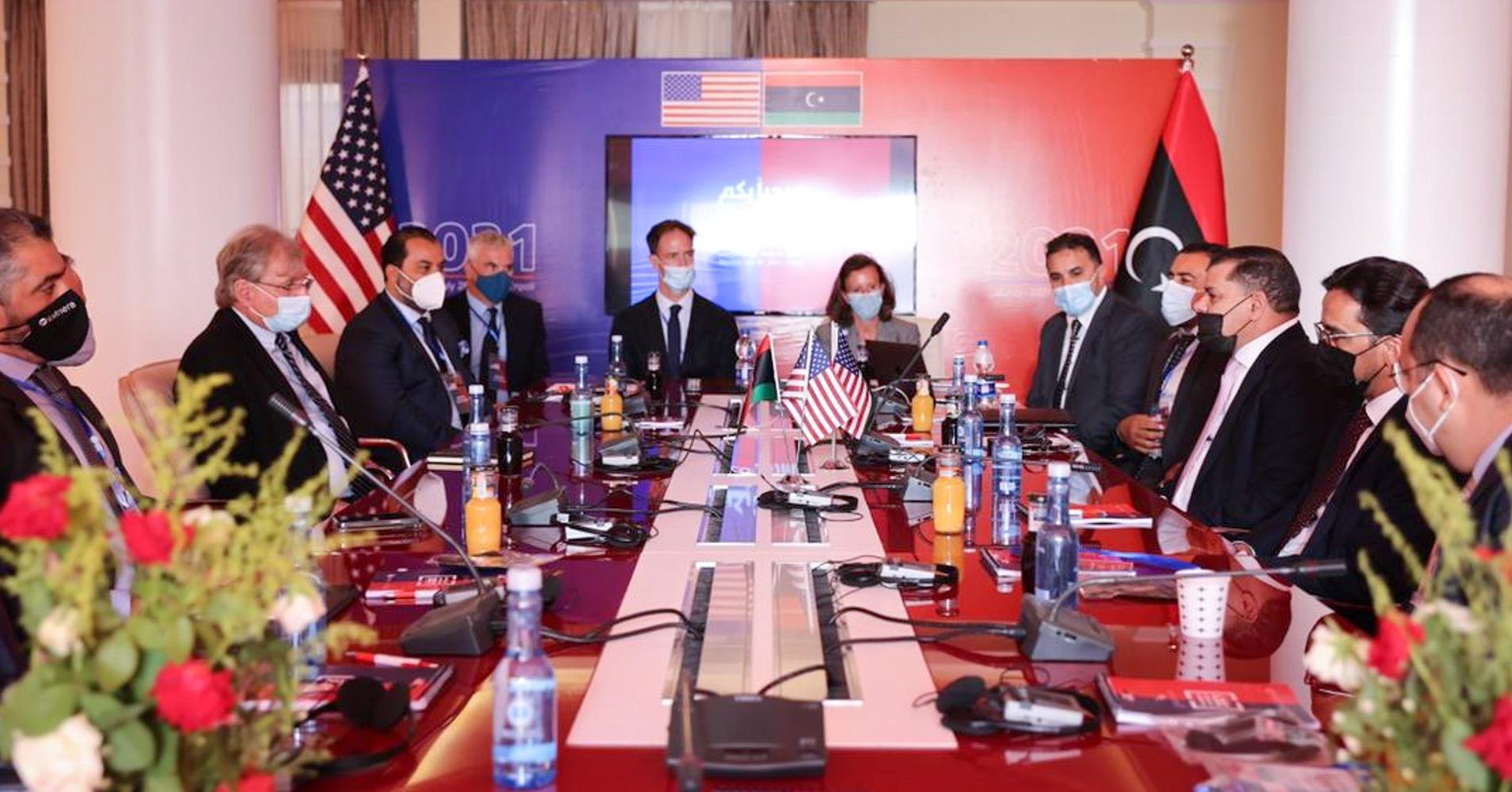مائدة مستديرة مع غرفة التجارة الأمريكية