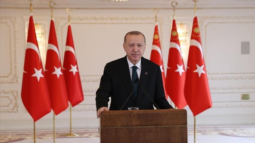 أردوغان: تركيا ستواصل الدفاع عن حقوقها دون أي إذعان لتهديد وترهيب
