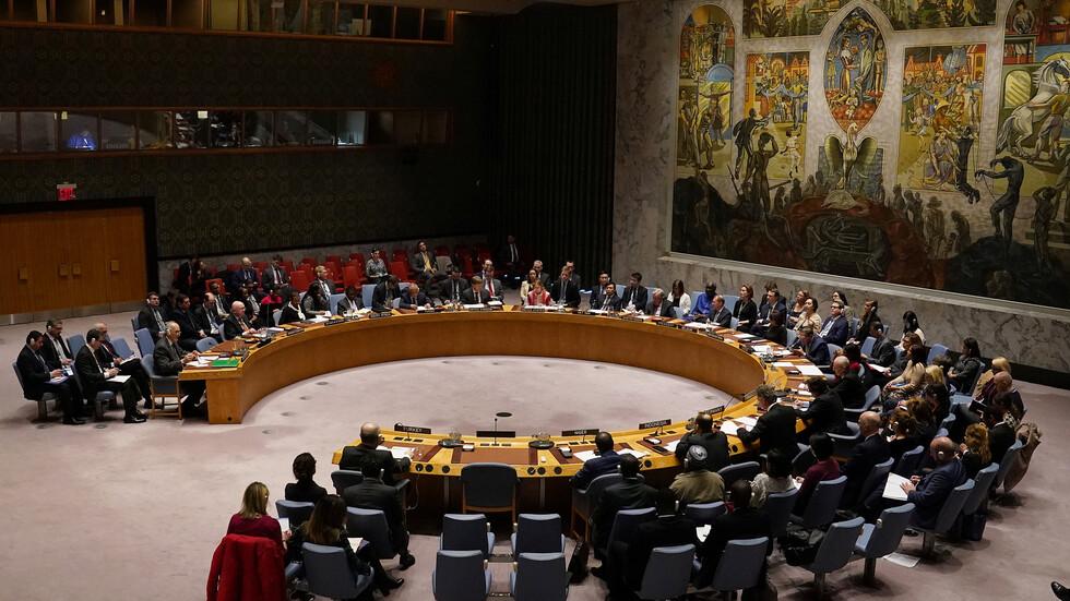 مجلس الأمن يعقد جلسة لبحث الانتهاكات الإسرائيلية واعتداءات المستوطنين