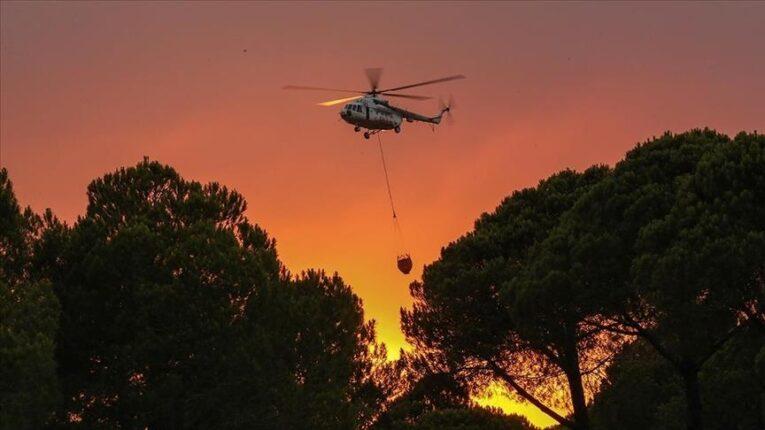 تركيا.. ارتفاع حصيلة قتلى حرائق الغابات في أنطاليا إلى 6 أشخاص