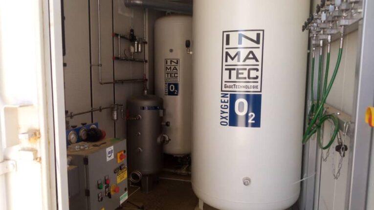 تشغيل مصنع الأوكسجين بمستشفى غريان بعد توقف دام أكثر من 10 سنوات