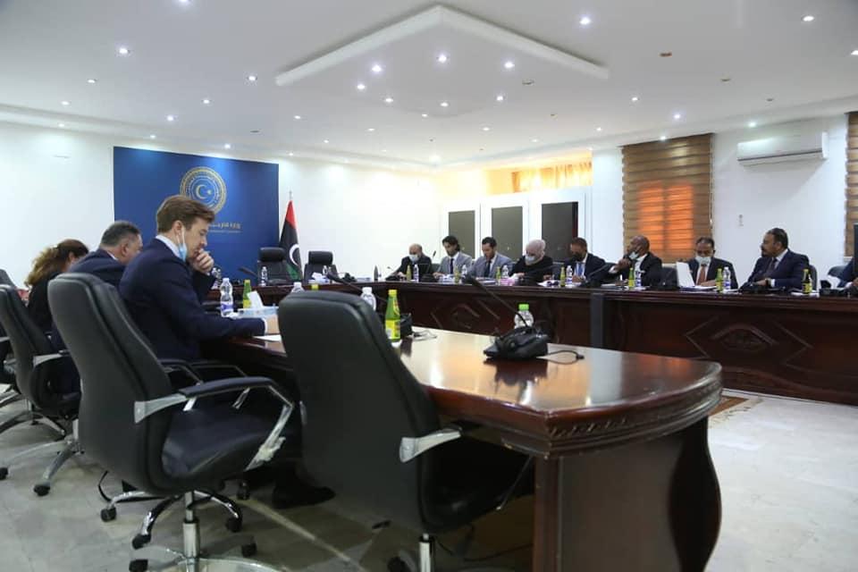 مباحثات حول تعزيز التعاون الليبي الأوروبي