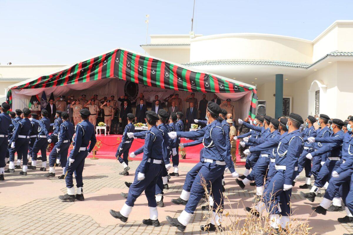 صور.. حفل تخريج الدفعة الأولى لقوة دعم مديريات الأمن
