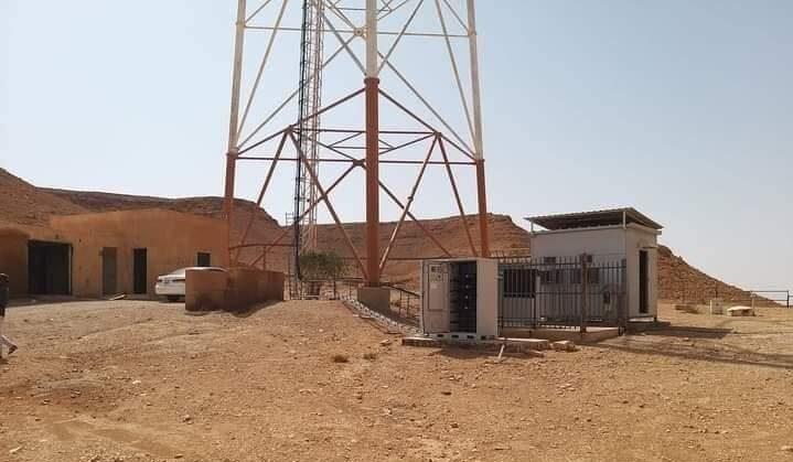 إحباط عملية سرقة بطاريات لشبكتي ليبيانا والمدار بمدينة مزدة