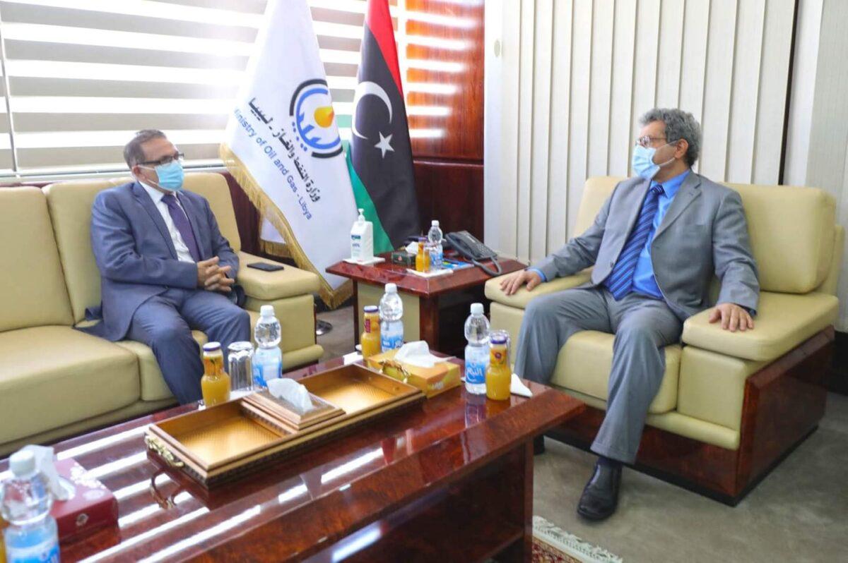 وزير النفط يُرحب بعودة عمل السفارة المالطية في ليبيا