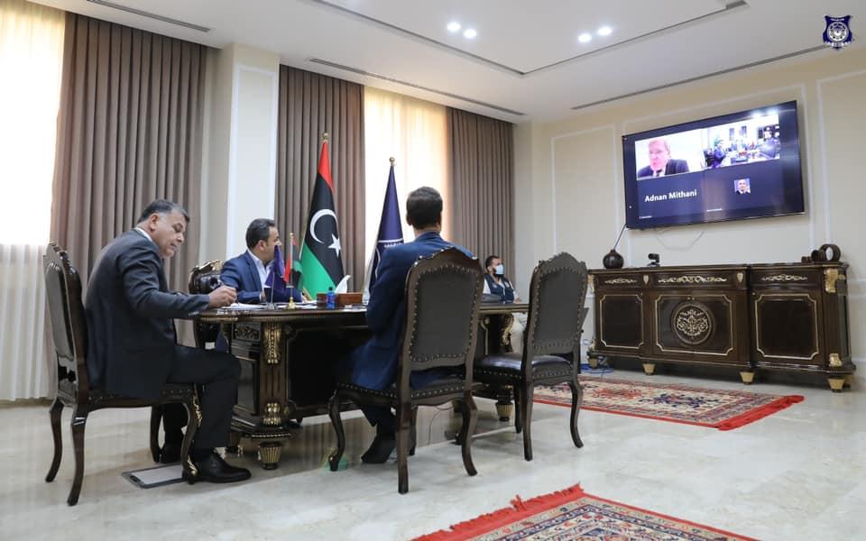 وزير الداخلية يبحث أوجه التعاون الأمني مع الولايات المتحدة