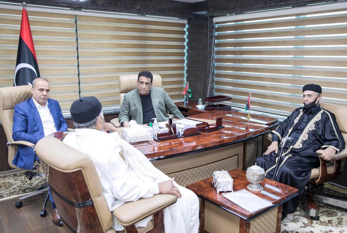 الرئاسي يُناقش ملف المصالحة مع مجلس شيوخ ليبيا