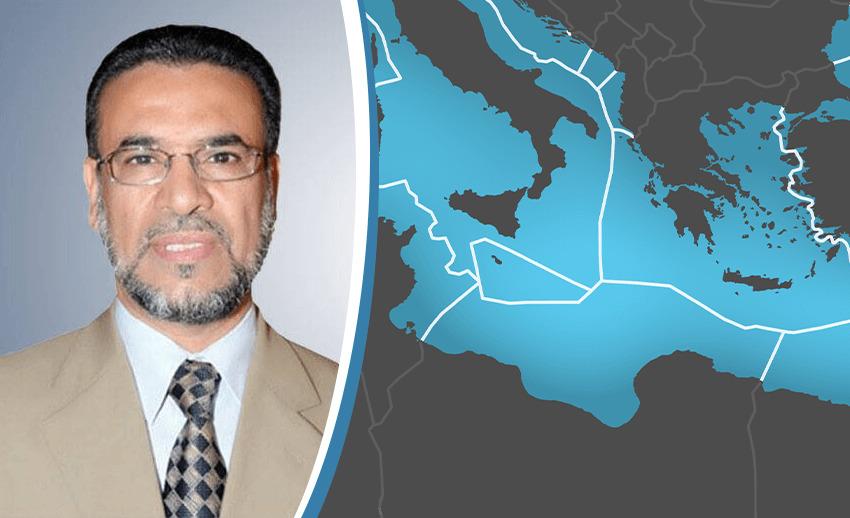 لقاء خاص للحديث حول ترسيم الحدود البحرية مع إيطاليا