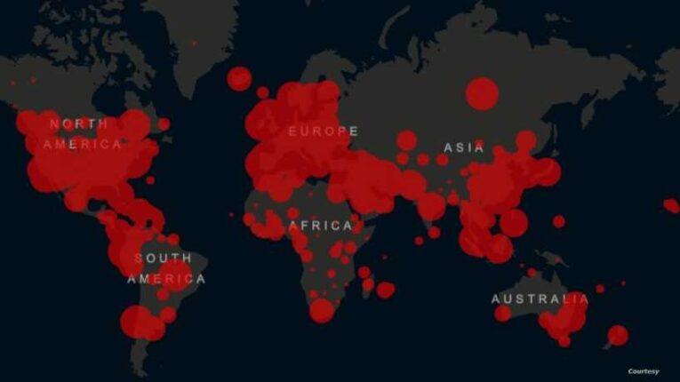 إصابات كورونا حول العالم تقترب من 216 مليون حالة