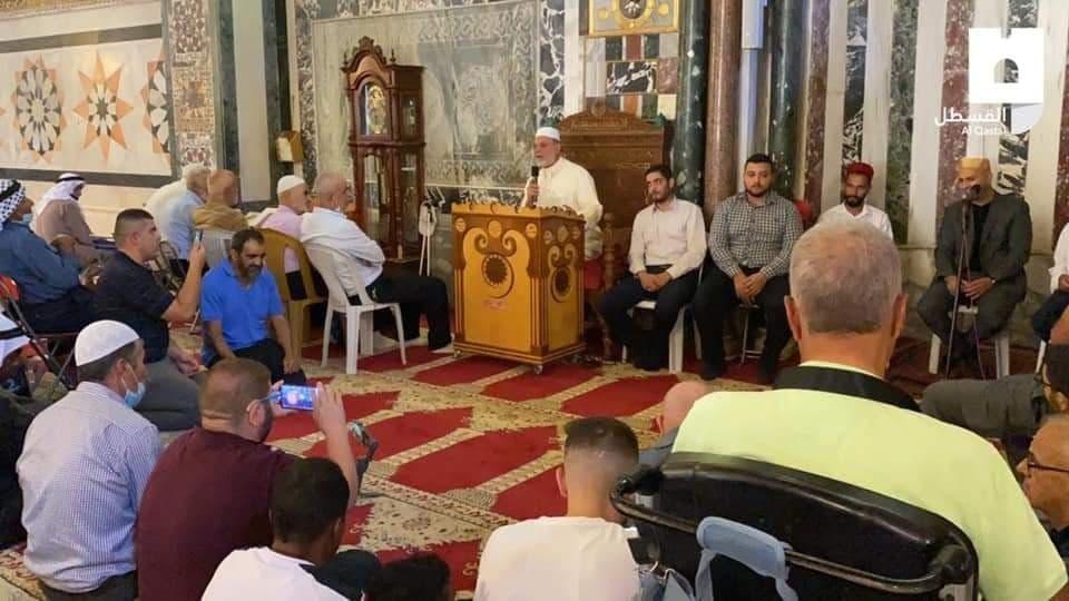 إحياء رأس السنة الهجرية في المسجد الأقصى المُبارك