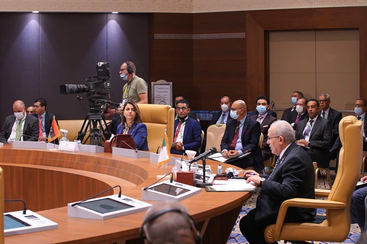 اختتام أعمال الاجتماع الوزاري لدول جوار ليبيا