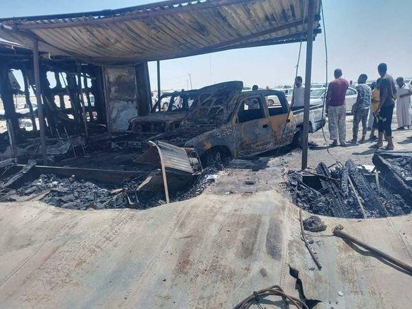 انفجار يستهدف بوابة أمنية في منطقة زلة