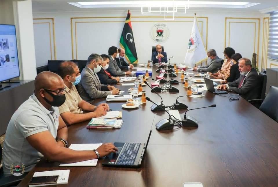 اجتماع موسع بوزارة الدفاع مع اللجنة الأممية لتقصي الحقائق