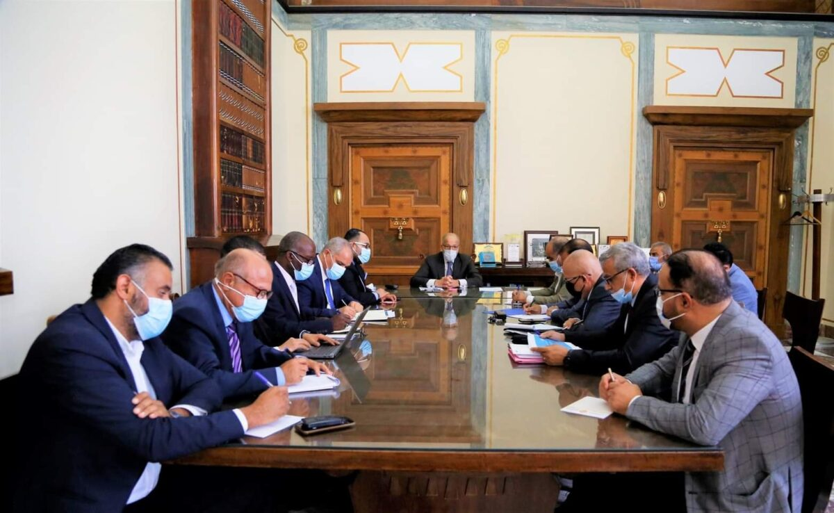 اجتماع لمناقشة خارطة توحيد المصرف المركزي