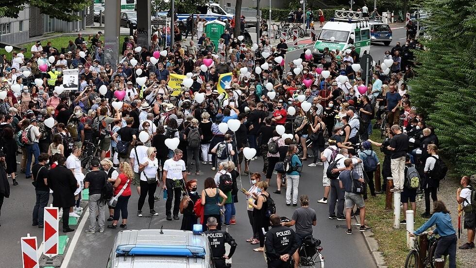 ألمانيا.. مظاهرات في برلين احتجاجاً على قيود كورونا