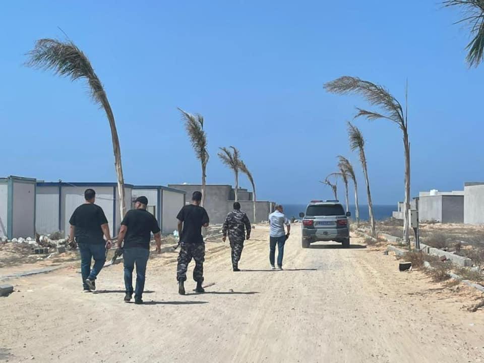صور.. استمرار الحملة الأمنية لمنع الاعتداءات على أراضي الدولة