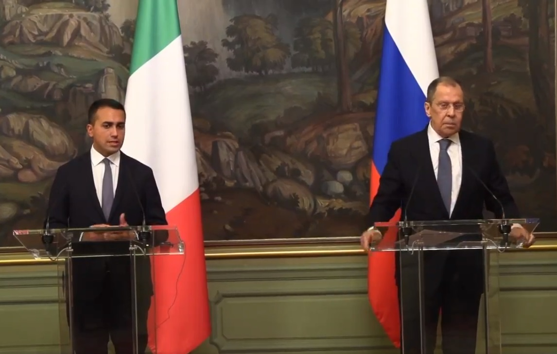 روما: التعاون مع روسيا محوري بشأن ليبيا