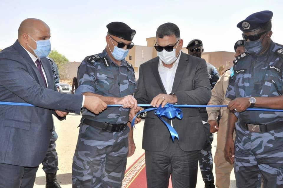 افتتاح مقر الدعم المركزي في منطقة صلاح الدين بطرابلس