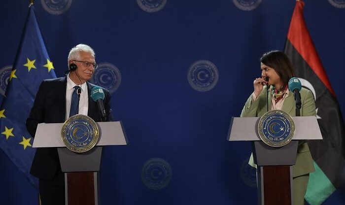 ممثل السياسة الخارجية والأمنية للاتحاد الأوروبي يزور طرابلس