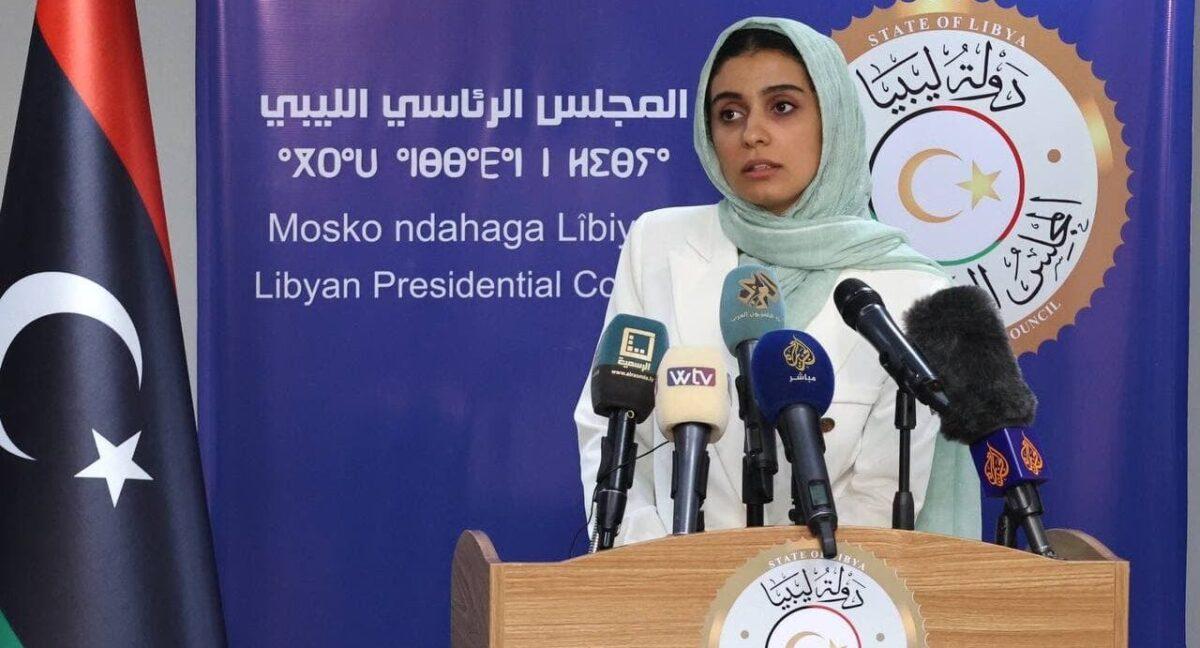 مؤتمر صحفي للمتحدثة باسم المجلس الرئاسي حول آخر المستجدات