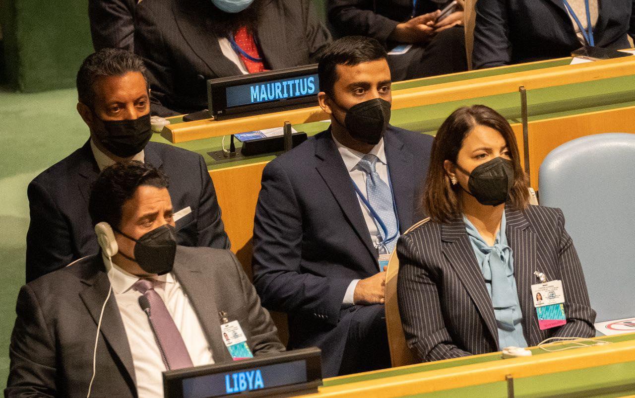 «المنفي» يُشارك في افتتاح الدورة 76 لجمعية الأمم المتحدة