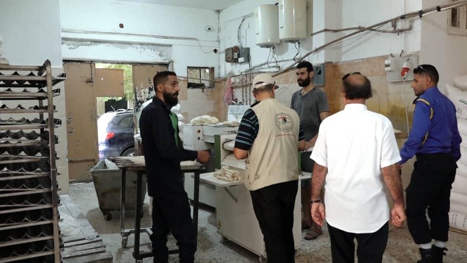 جولة تفتيشية واسعة للرقابة على الأغذية في بنغازي