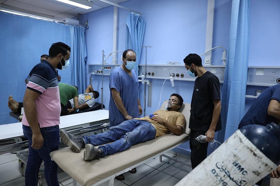 مديرية أمن بنغازي تقبض على متهمين في تسرب غاز «الكلور» السام