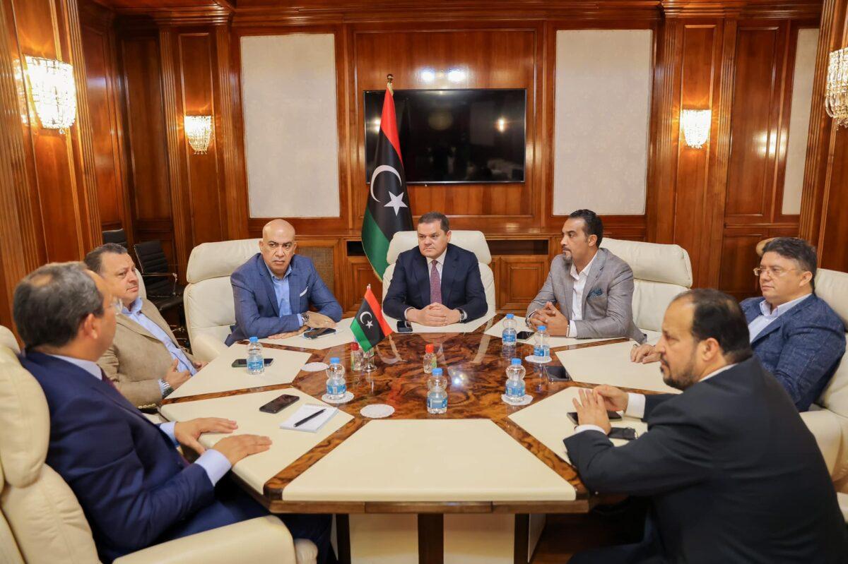 رئيس حكومة الوحدة الوطنية يلتقي رؤساء بعض الأندية