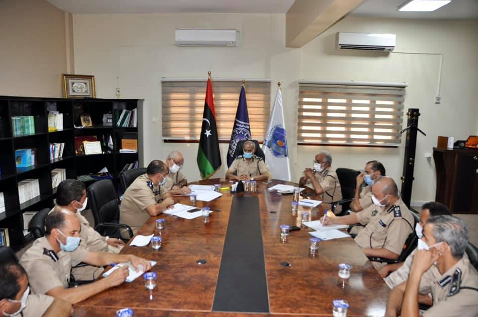 الداخلية تُناقش استعدادات إحياء ذكرى يوم الشرطة الليبية