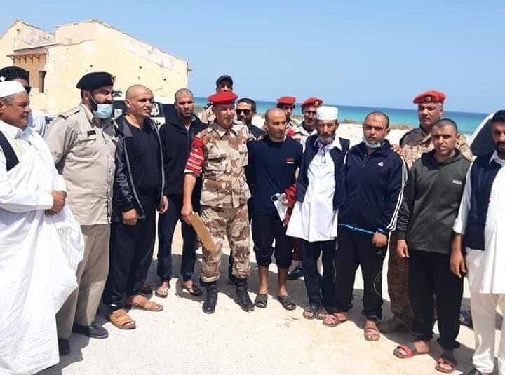 البعثة الأممية تُرحب بالإفراج عن متحجزين لدى قوات حفتر