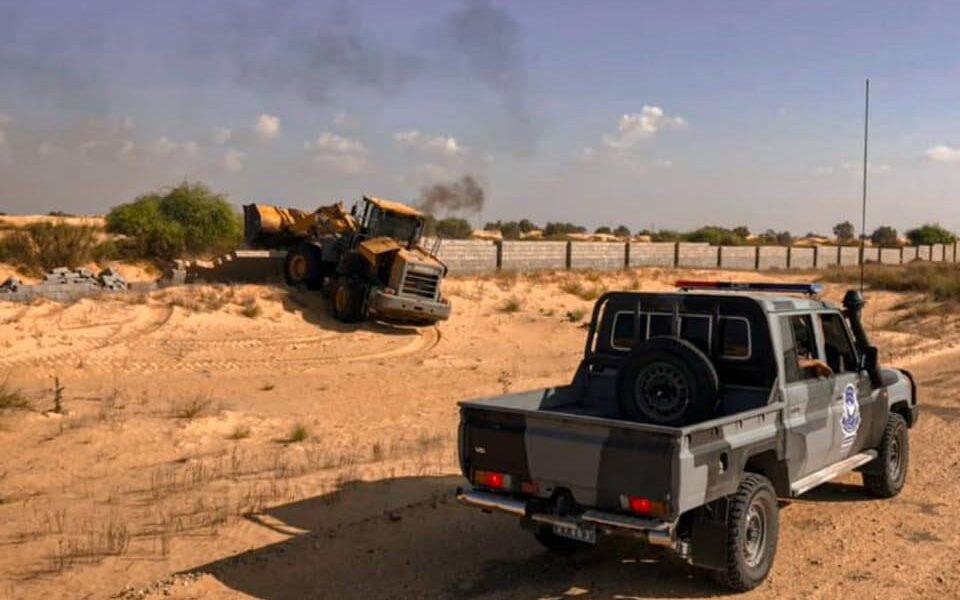 صور.. إخلاء 335 هكتار في القره بوللي لأرض تعود ملكيتها للدولة